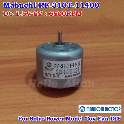 Mabuchi Rf-310t-11400 Dc 1.5v-6v 6500rpm Mini Solar Power Motor Diy Toy Parts
