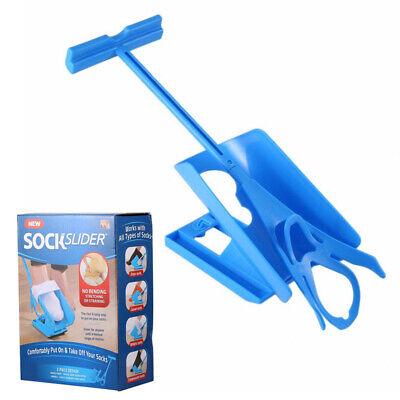 Schuh-horn (Sock Slider Helper Kit hilft beim Anziehen von Socken ohne Biegen von Schuhhorn )