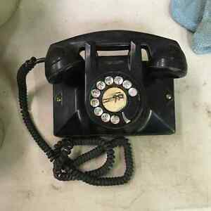 Northern Electric Bakelite Wall Mount Telephone