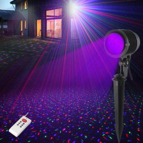 suny rgb laser led light lawn gardon beleuchtung laserprojektor outdoor xmas rc ebay. Black Bedroom Furniture Sets. Home Design Ideas
