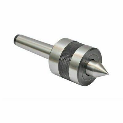 Knurling Tool 2 Inches With Revolving Live Center Mt1 Mounting Shank Alloy Steel