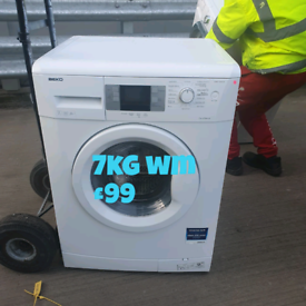 Beko 7kg washing machine free delivery in Nottingham