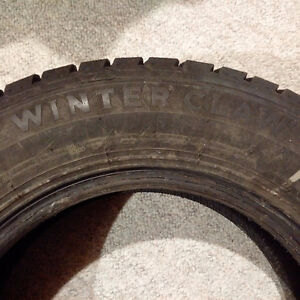 Winter Claw EXTreme grip (215/70R16 100S)