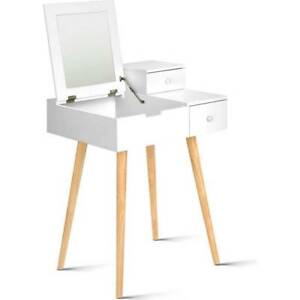 Artiss Dressing Table with Foldaway Mirror White Vanity Sydney City Inner Sydney Preview