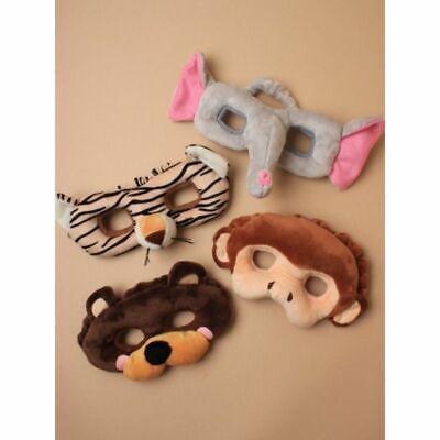 Animal Face Mask  In Monkey,Elephant,Bear Or Tiger ()