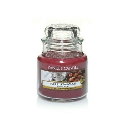 YANKEE CANDLE Giara Piccola Classica Candela Profumata Aroma Moroccan Argan Oil