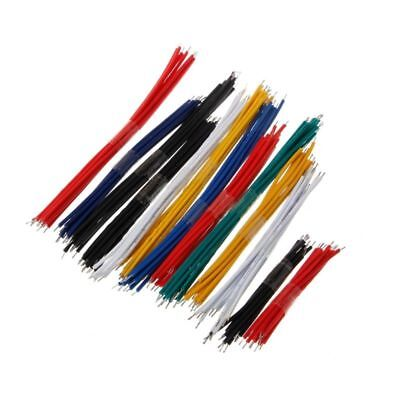 130 Pcs Colorful 24awg 13 Value Breadboard Jumper Cable Wire Kit Double Tinned