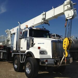2001 WESTERN STAR TDM TDM, 40 TON WELDCO PICKER