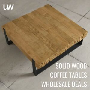 Beautiful Chunky SOLID WOOD Tables