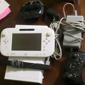 Wiiu system with 3 games
