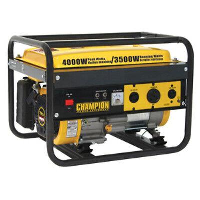 Champion 35004000 Watt Portable Gas-powered Generator 46596 Powered Generator