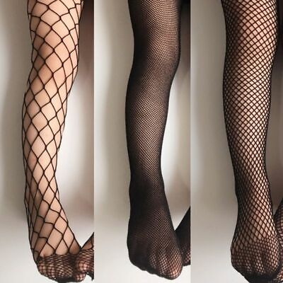 Stockings Girls Fishnet Black Pantyhose Fashion Kids Baby Tights Cotton - Baby Fishnet Tights