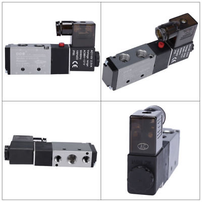 Air Solenoid Valve Directional Control 110v Ac 14 Pneumatic 4 Way 2 Position