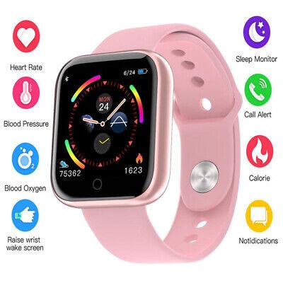 Smart Watch Women Men Heart Rate Fitness Bracelet For iPhone Android Waterproof