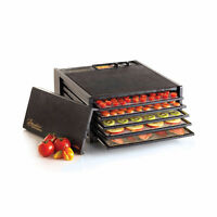 5 Tray Excalibur Food Dehydrator 3526T Black with timer OBO