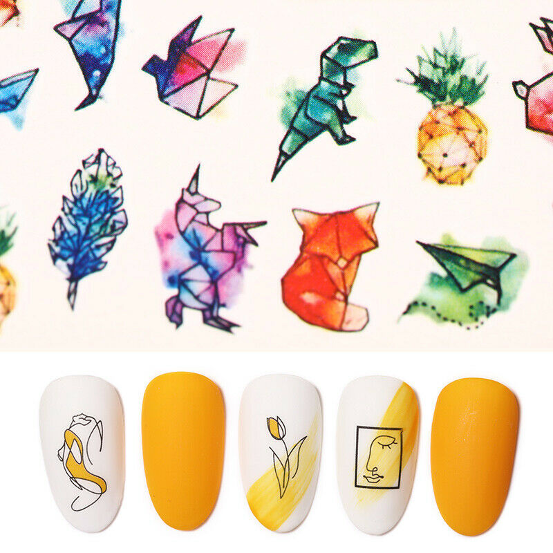 Nail Water Decals Love Mixed Stickers Nail Art