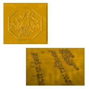 Hot stamping Water Soluble Photo polymer Plate A4 Size #010006