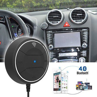 3.5mm Wireless Bluetooth 4.0 Music Receiver New Handsfree Car AUX Speaker