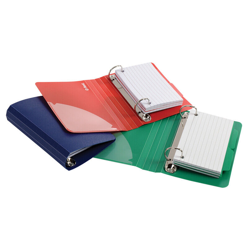 OXFORD OXFORD POLY INDEX CARD BINDER