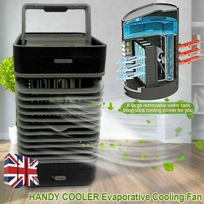 Air Conditioner Cooler Small Cooling Humidifier Purifier Portable Fan Filter UK