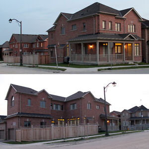 Brand New Large 4+1BD Detached Corner House in Markham for Rent