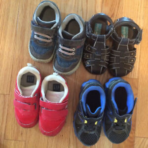 Toddler boys size 7 shoes