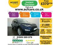 2016 BLUE LAND ROVER DISCOVERY SPORT 2.0 TD4 HSE LUXURY CAR FINANCE FR £370 PCM