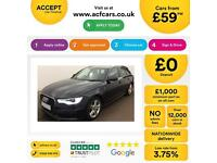 Blue AUDI A6 AVANT ESTATE 2.0 3.0 TDI Diesel SPORT S LINE FROM £59 PER WEEK !