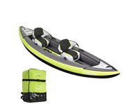 Tribord Itiwit 2 Inflatable Kayak Canoe Boat With Oar Paddle And Pump