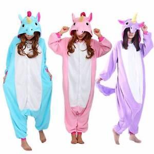 Royal Unicorn Onesie Costume Blue Pink Purple Unisex Pajamas Sale Marrickville Marrickville Area Preview