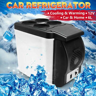 6L Portable 12v Mini Car Freezer Cooler Warmer Electric Fridge Travel Box UK