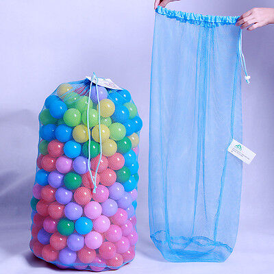 Kids Ball Pit Balls Storage Net Bag Toys Organizer for 200 Balls Without ball fq