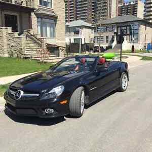 2011 Mercedes-Benz SL550 Convertible with AMG sport package