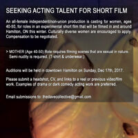 CASTING CALL for women age 40-50