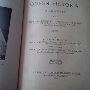 Queen Victoria Her Life and Reign, 1896, Illustrated Kitchener / Waterloo Kitchener Area image 2