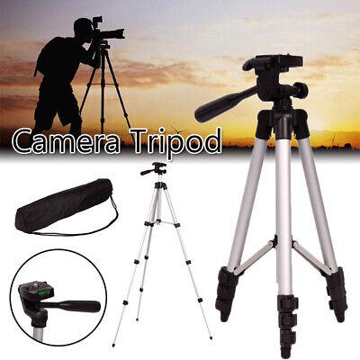 Portable Aluminium Tripod Swivel Travel for Canon Digital Camera Camcorder
