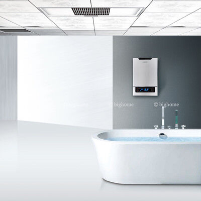 Best Tankless Electric Hot Water Heater On Demand LED Touch White Colour 18KW