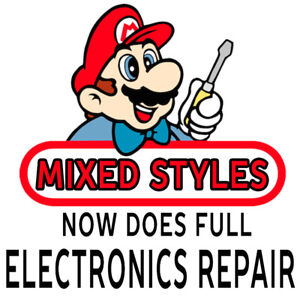 Video Games & Electronics Repair MIXED STYLES