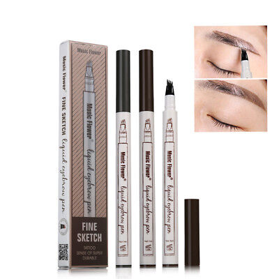 Waterproof Fork Tip Eyebrow Tattoo Pen BEST PRICE Microblading Eyebrow