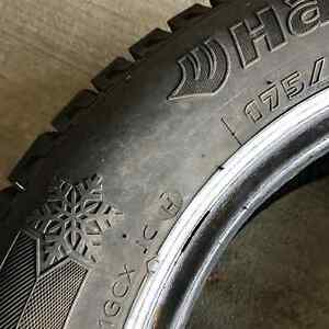 "Hankook iPike RC01 14"" winter tires.  Used one (1) season only!! London Ontario image 3"