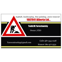 Snow Removal/Parking lot services
