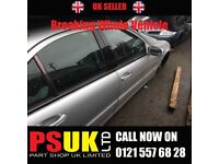 Mercedes C220 (2003) Silver Breaking Whole Vehicle