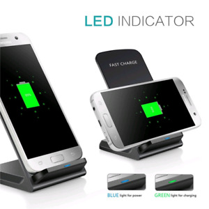 Qi fast wireless charger for qi enabled devices