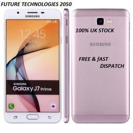 Samsung Galaxy J7 Prime 16/32GB Gold/Black Brand New 4G Unlocked 2 Year Samsung Warranty Eastham E6