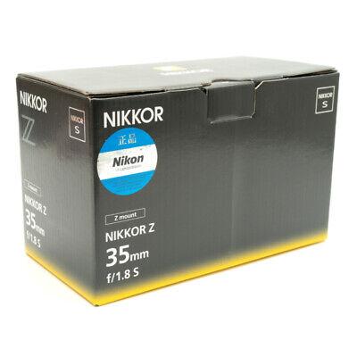 Nikon NIKKOR Z 35mm F1.8 S Lens Genuine
