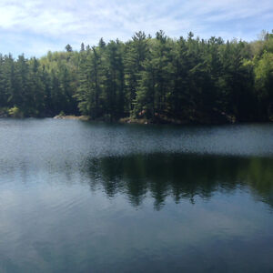 Land for sale, waterfront, in Outaouais