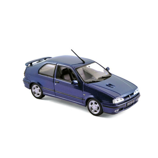 Norev 511907 Renault 19 16S Blue 1992 Model Car Scale 1:43 NEW !°