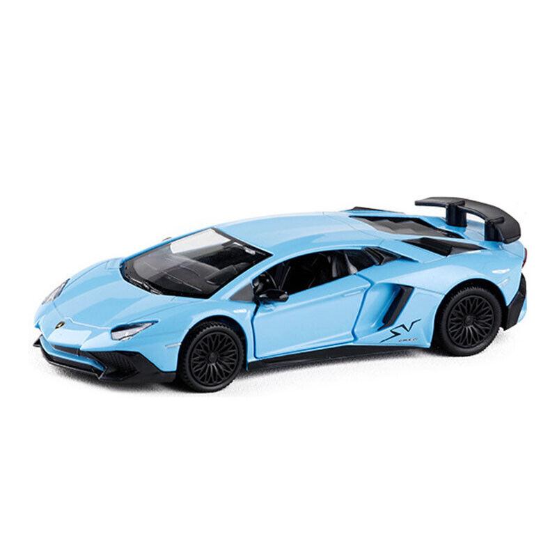 1:36 Lamborghini Aventador LP750-4 SV Model Car Diecast ...