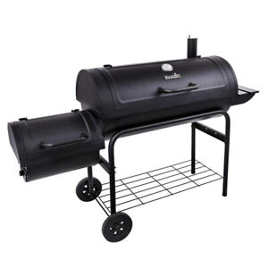 """Char-Broil 40"""" Offset Charcoal Grill 18202079"""
