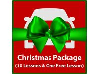 Driving Lesson Christmas Packages Now Available